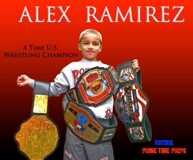 Alex Ramirez (4 Time Wrestling Champion)