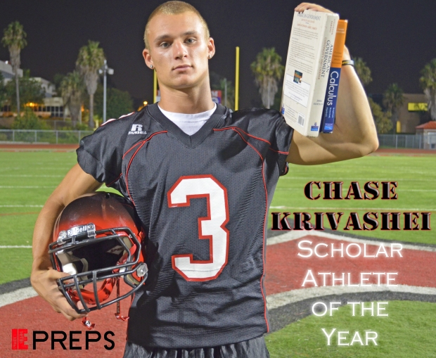 I.E. Prep's Magazine Scholar Athlete of the Year Chase Krivashei