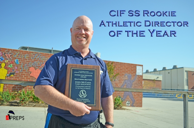John McGaha CIF SS Rookie Athletic F