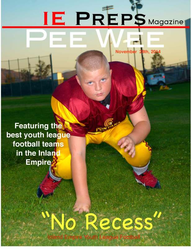 IE Preps Pee Wee Issue Cover
