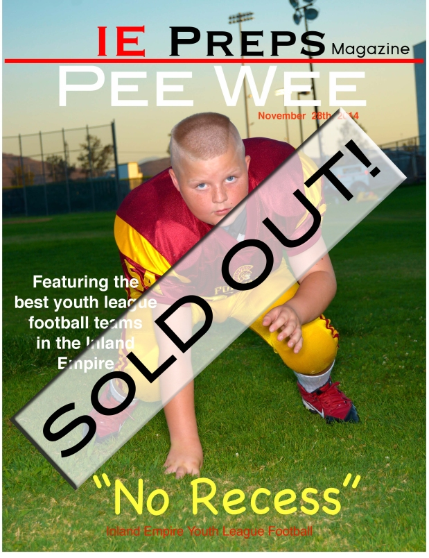 The Ultimate IE Youth Football issue.