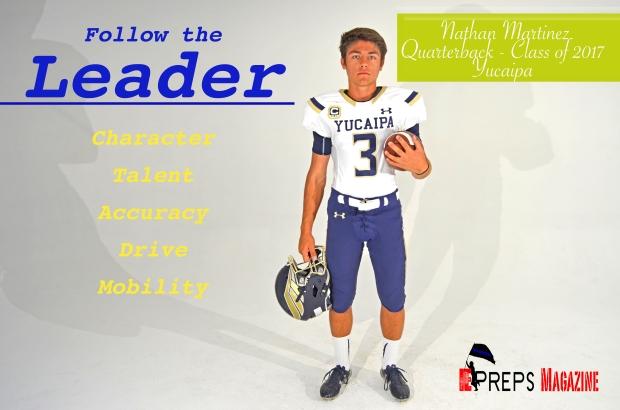 Nathan Martinez follow the leader