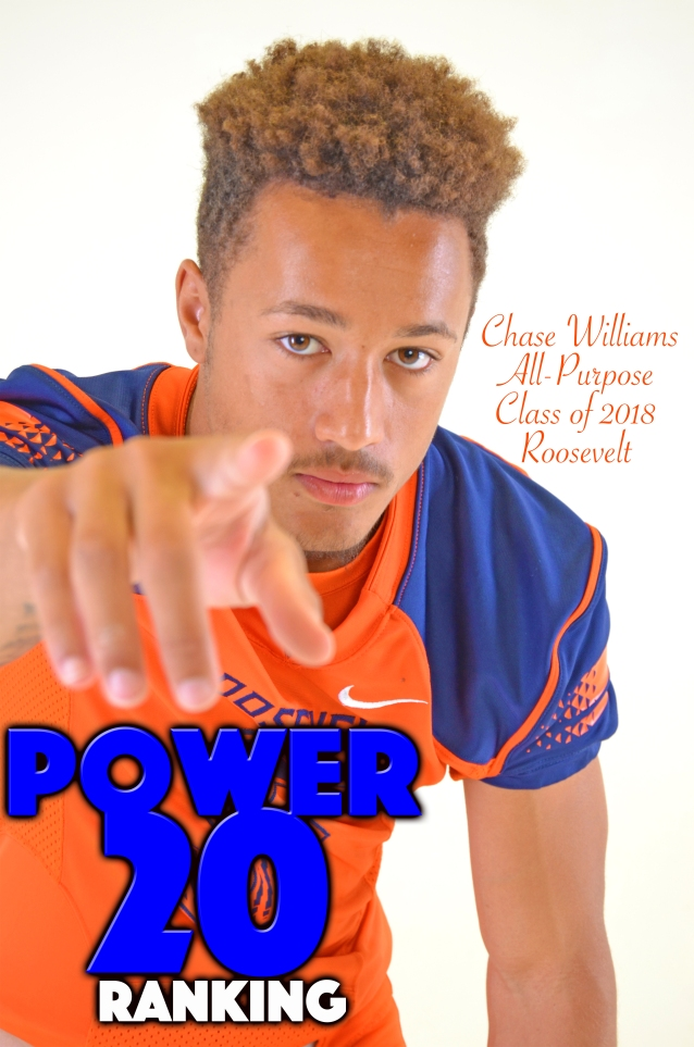 Chase Williams POWER 20 Ranking