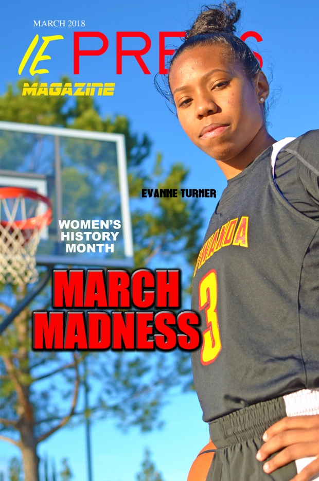 IE Preps Magazine March 2018 Evanne Turner Cover