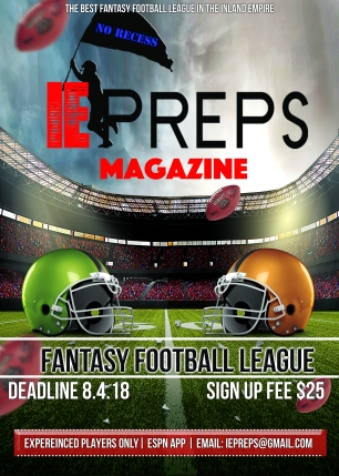 IE Preps Fantasy Football Flyer